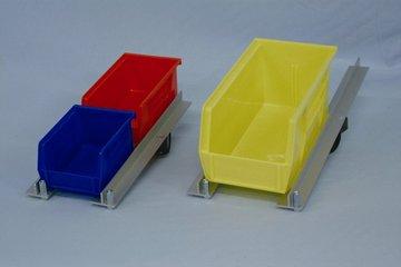 Molded Plastic Bins